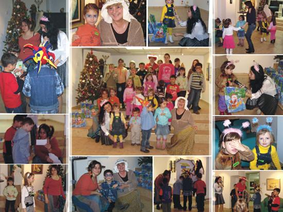 Коледно парти за малките активци